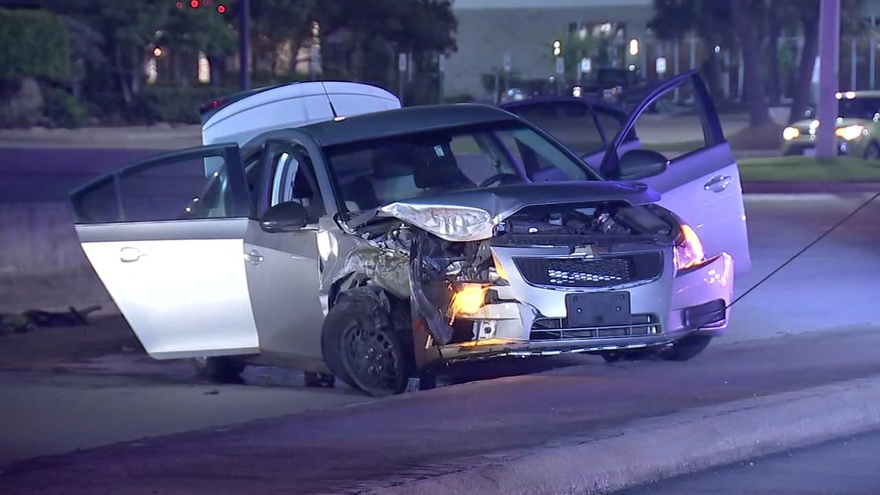 High-speed chase ends at Beltway 8 at Westpark