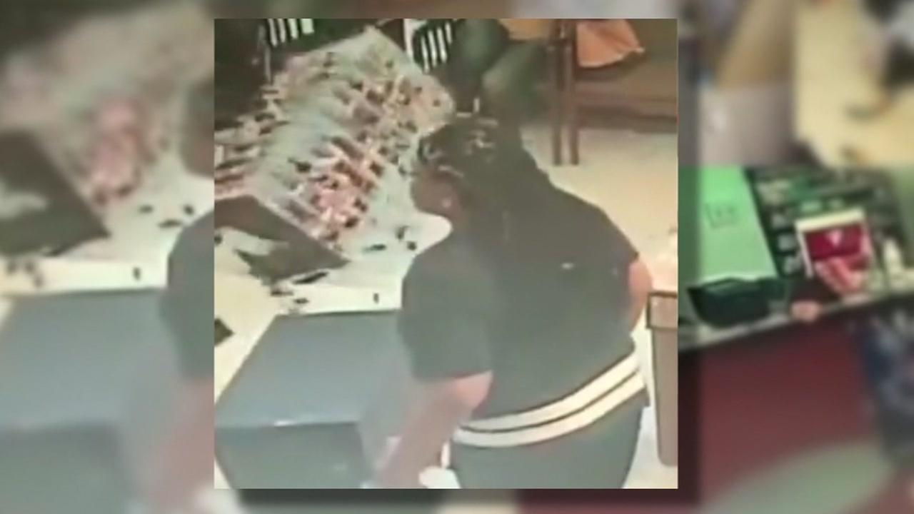 Woman goes on wild rampage in nail salon