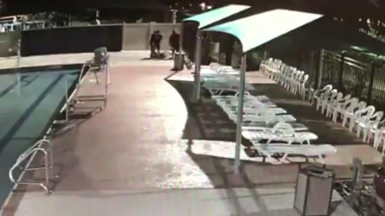New footage of Strawberry Water Park vandilasm