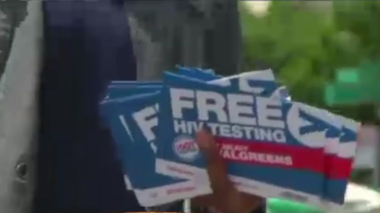 Free testing for National HIV Testing Day