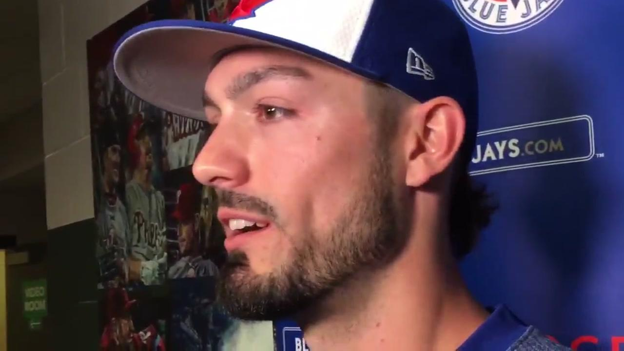 Randal Grichuk shines in homecoming for Blue Jays