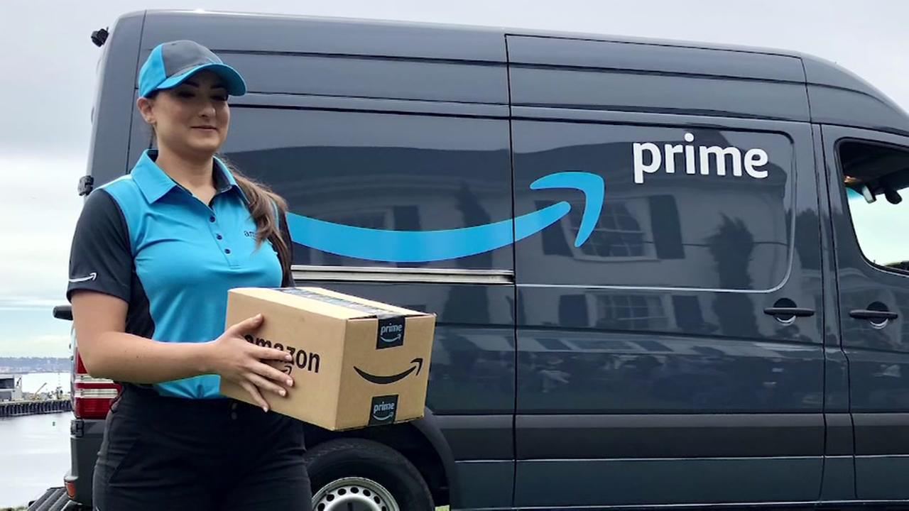 Amazon delivery vans to hit the street