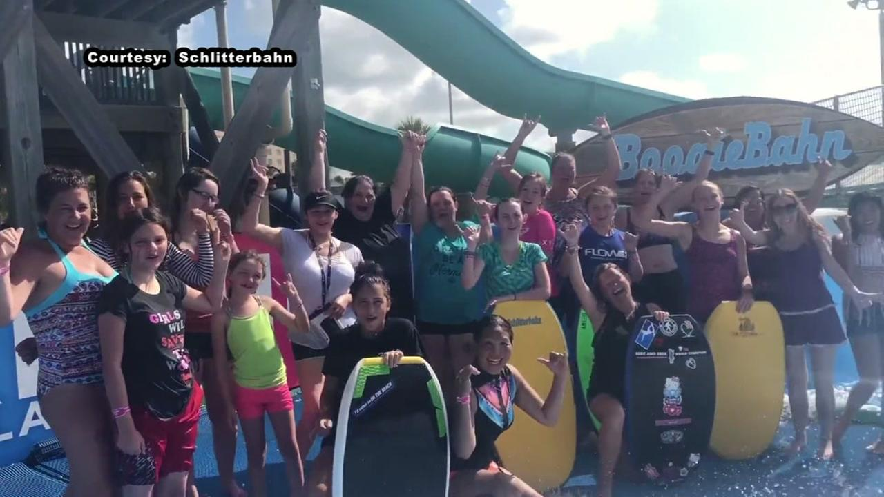 Schlitterbahn hosts Women Learn to Surf Day