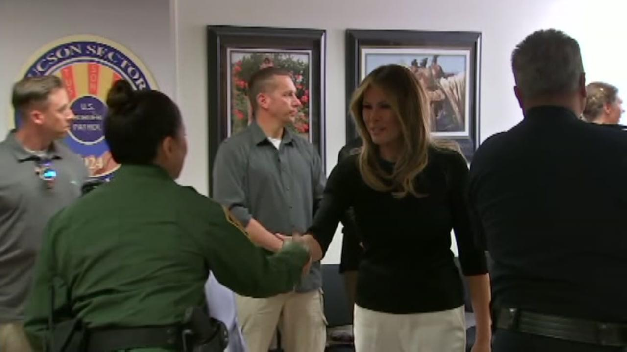 FLOTUS returns to US-Mexico border amid separation outcry