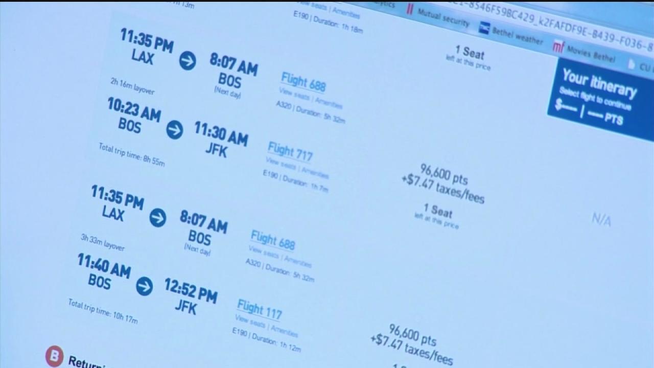 Booking airfare