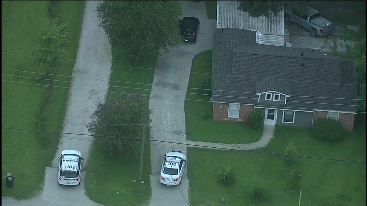 2 shot at home in Crosby
