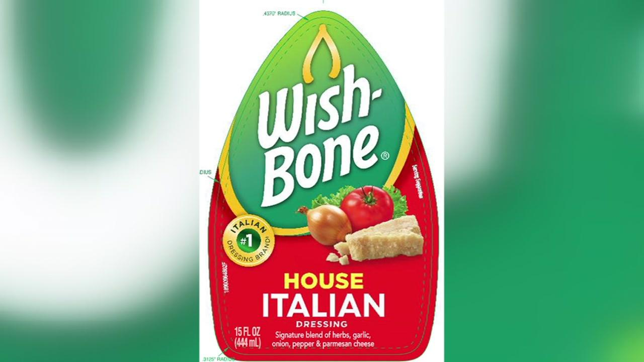 Wish Bone recalls Italian dressing after an allergy alert