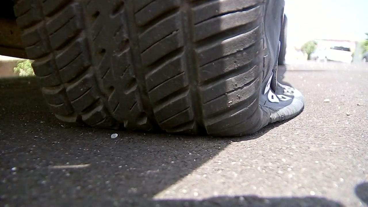 Tire slashing in Galveston