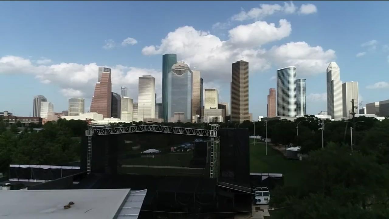 SKYDRONE13: Freedom Over Houston setup