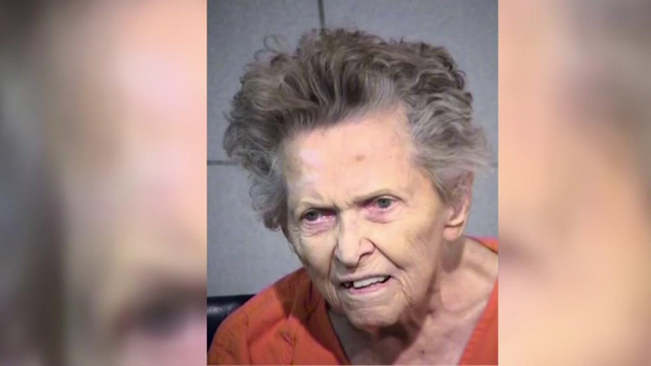 92-year-old woman accused of killing son