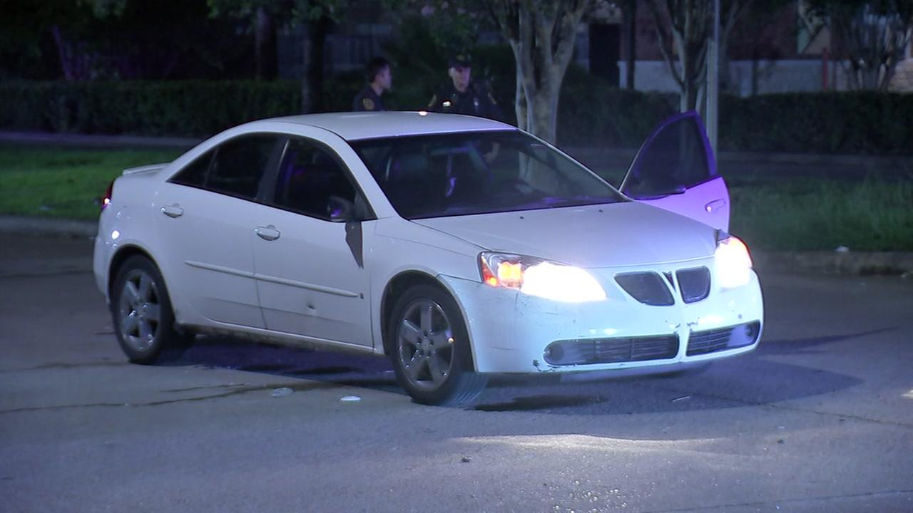 Woman shot during fight