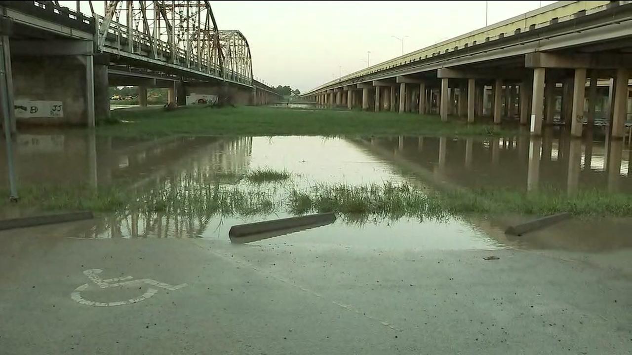 San Jacinto River flooding