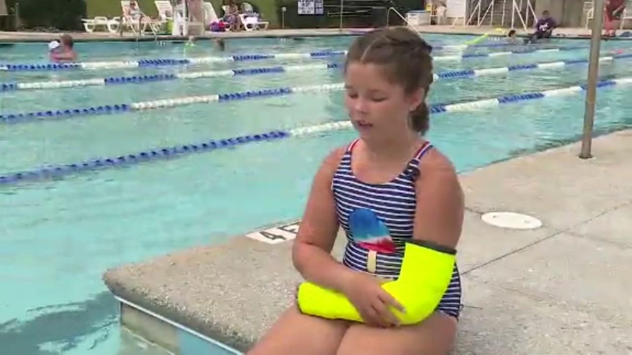 Technology improvements have led to a waterproof cast
