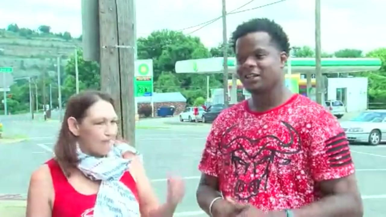 Quick-thinking gas station attendant helps woman showing signs of heatstroke in Ohio