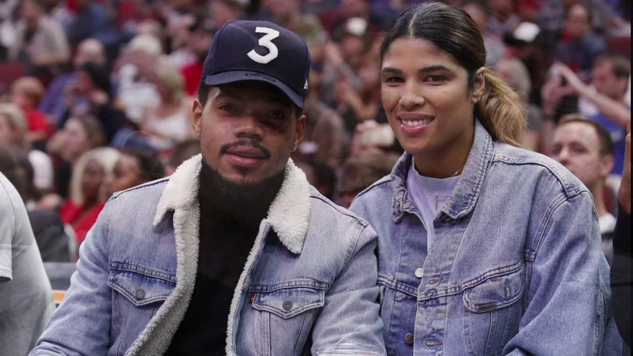 Chance the Rapper put a ring on it!