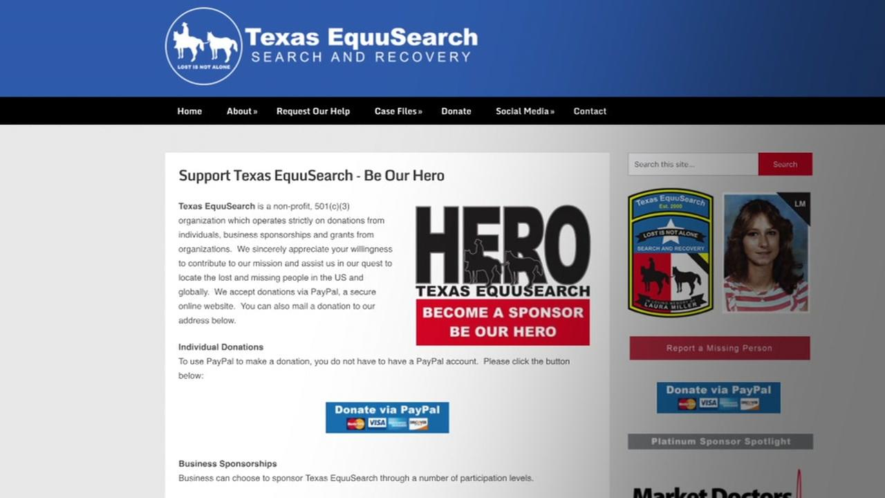 Texas EquuSearch is in need of money after funding crisis