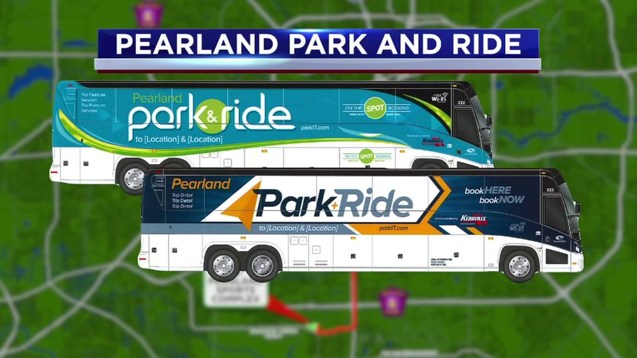 Park and Ride coming to Pearland