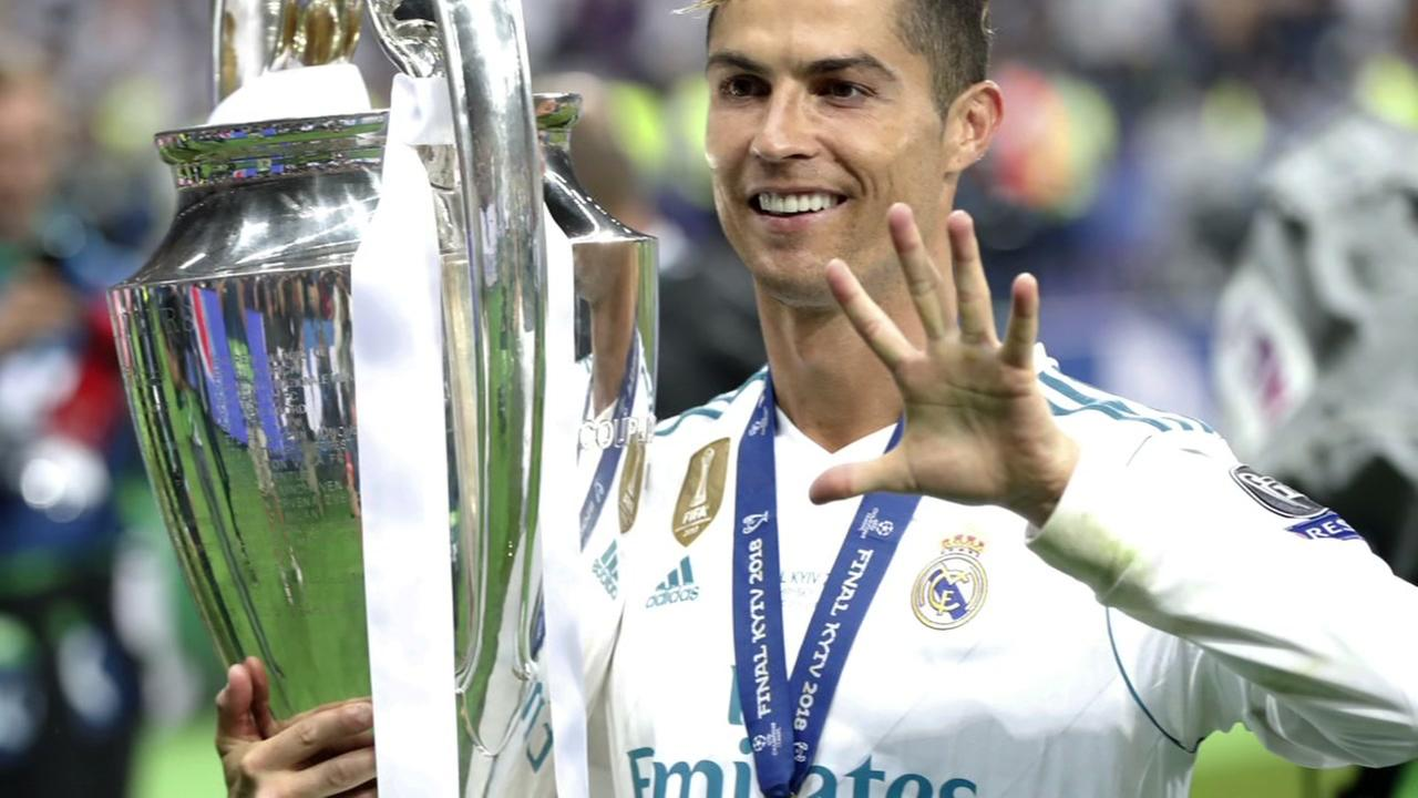 Cristiano Ronaldo leaving Real Madrid for Juventus