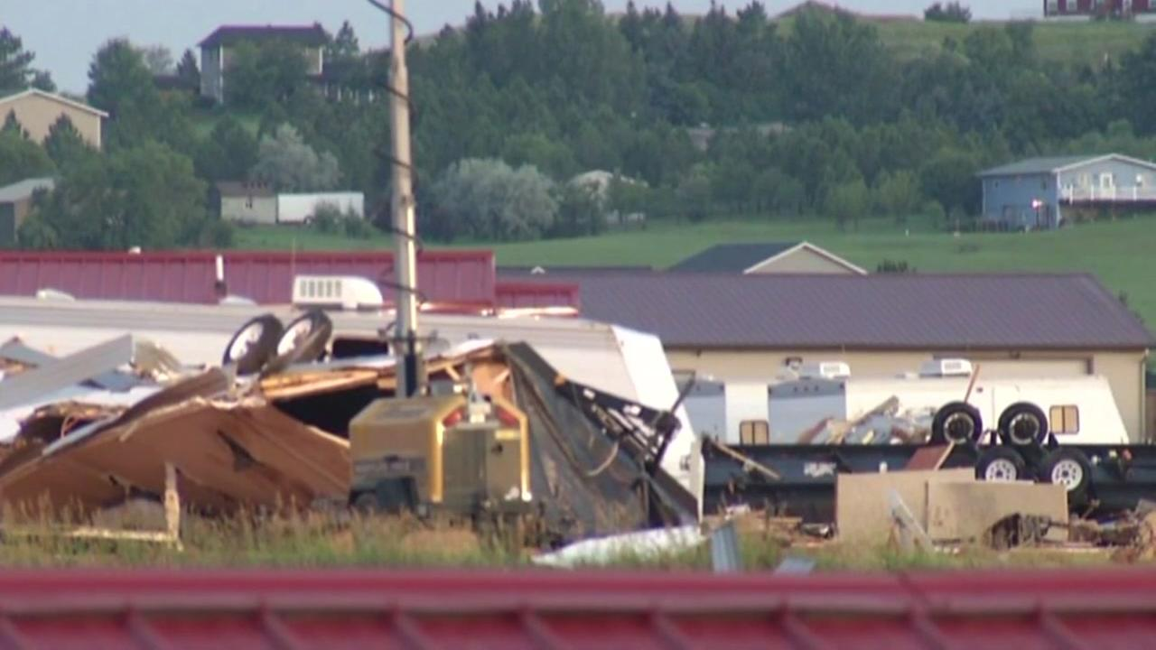 Newborn killed by tornado in North Dakota