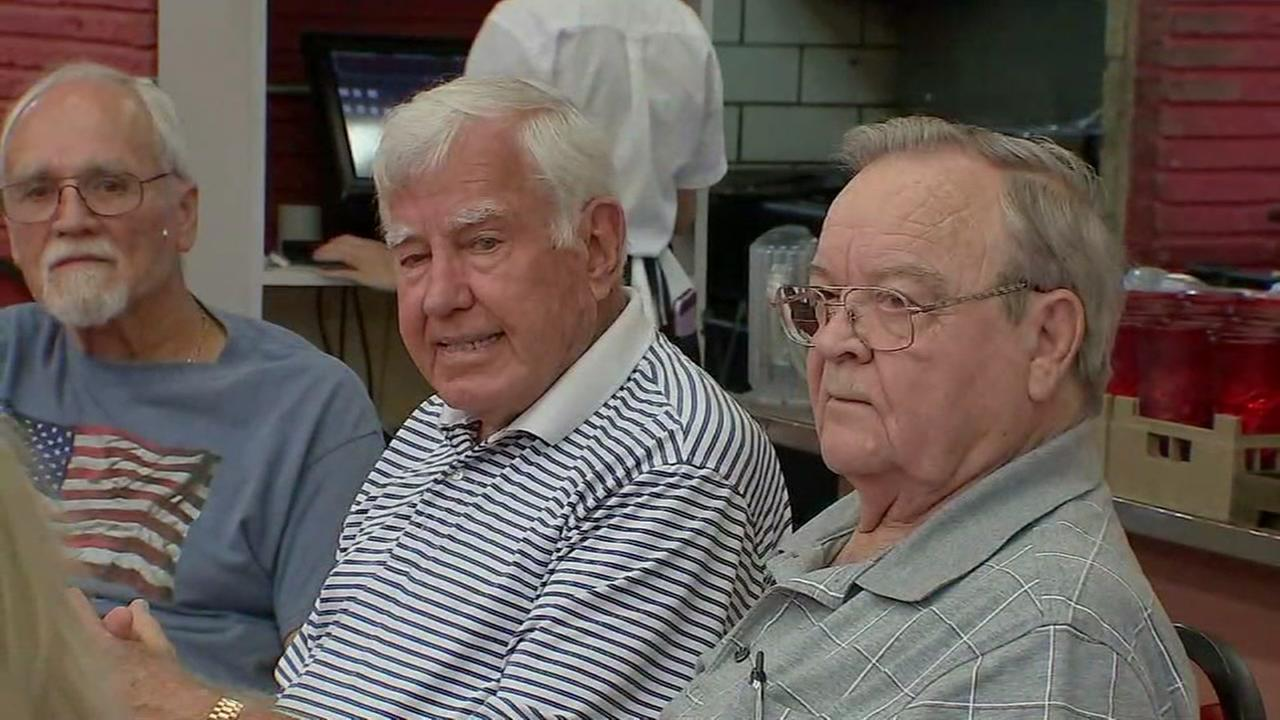Weekly breakfast group called the Reagan Bunch keeps former high school classmates together