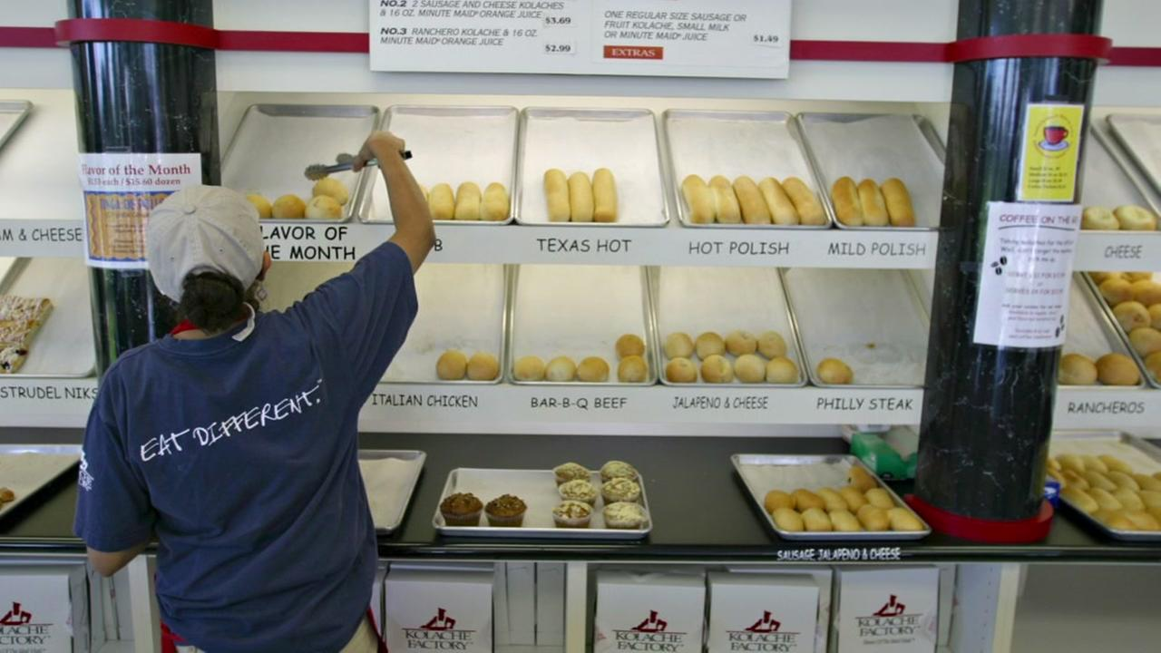 Man wins free Kolache Factory for one year