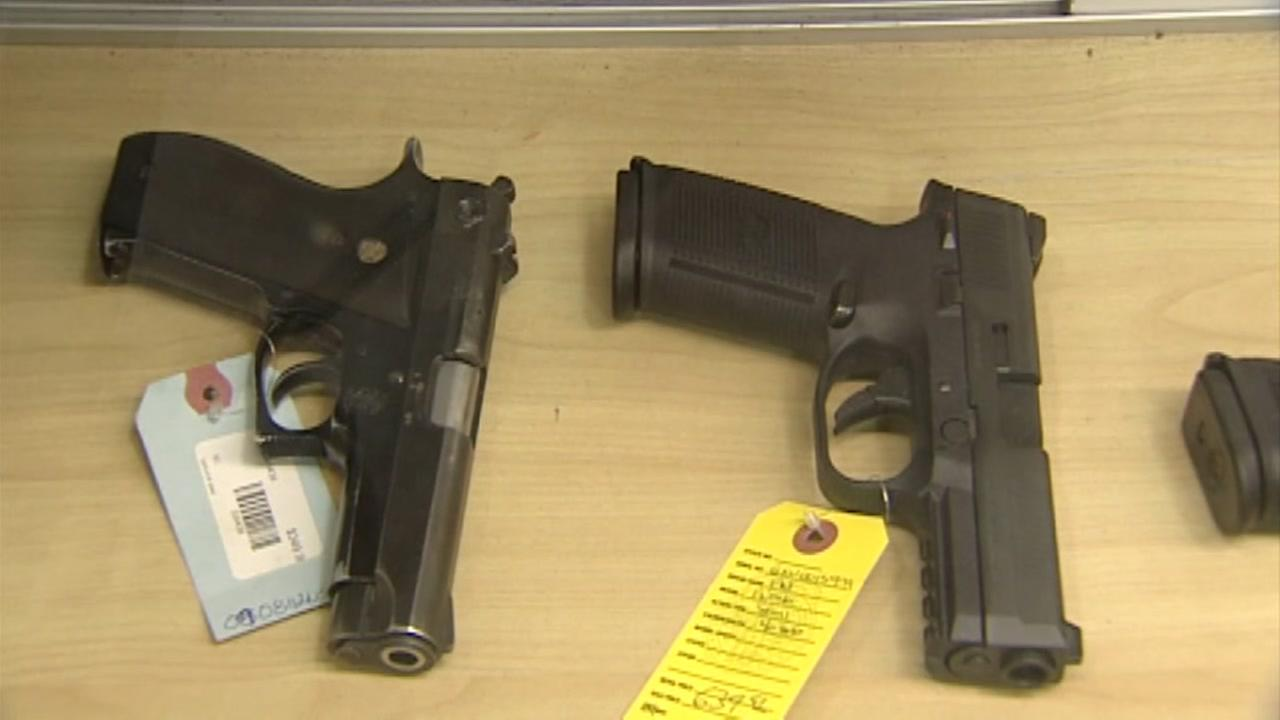 Rash of guns stolen