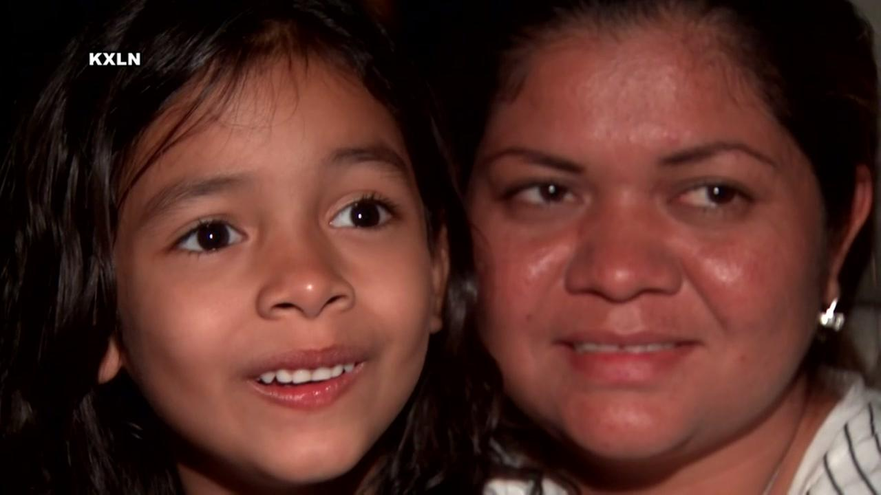 Mom and daughter reunited in Houston after being separated at border