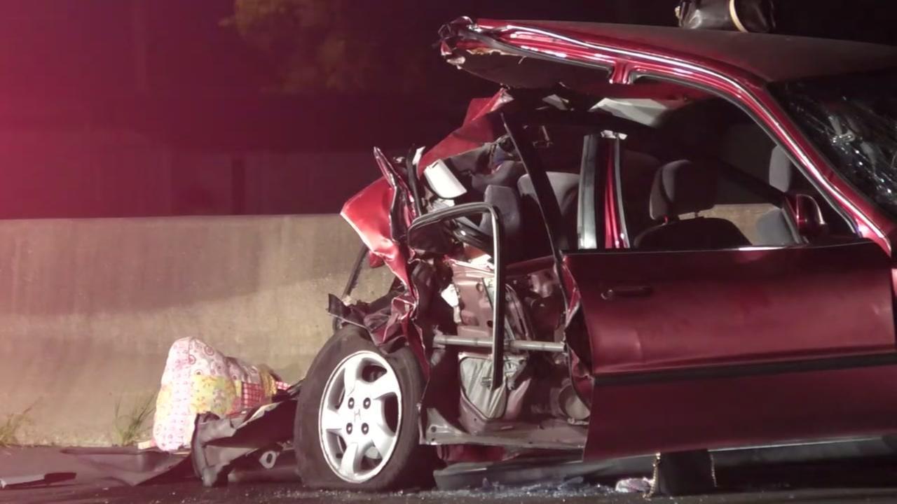 Woman killed in crash on Gulf Freeway