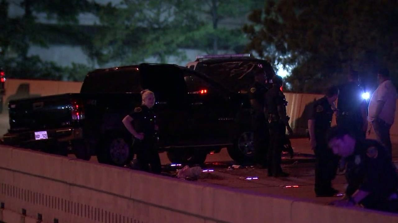 Authorities investigating deadly crash at 290 and 610