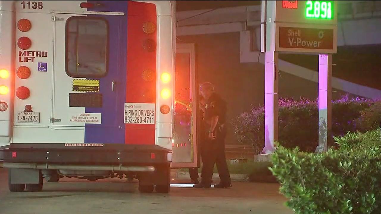 Metro Lift driver shot