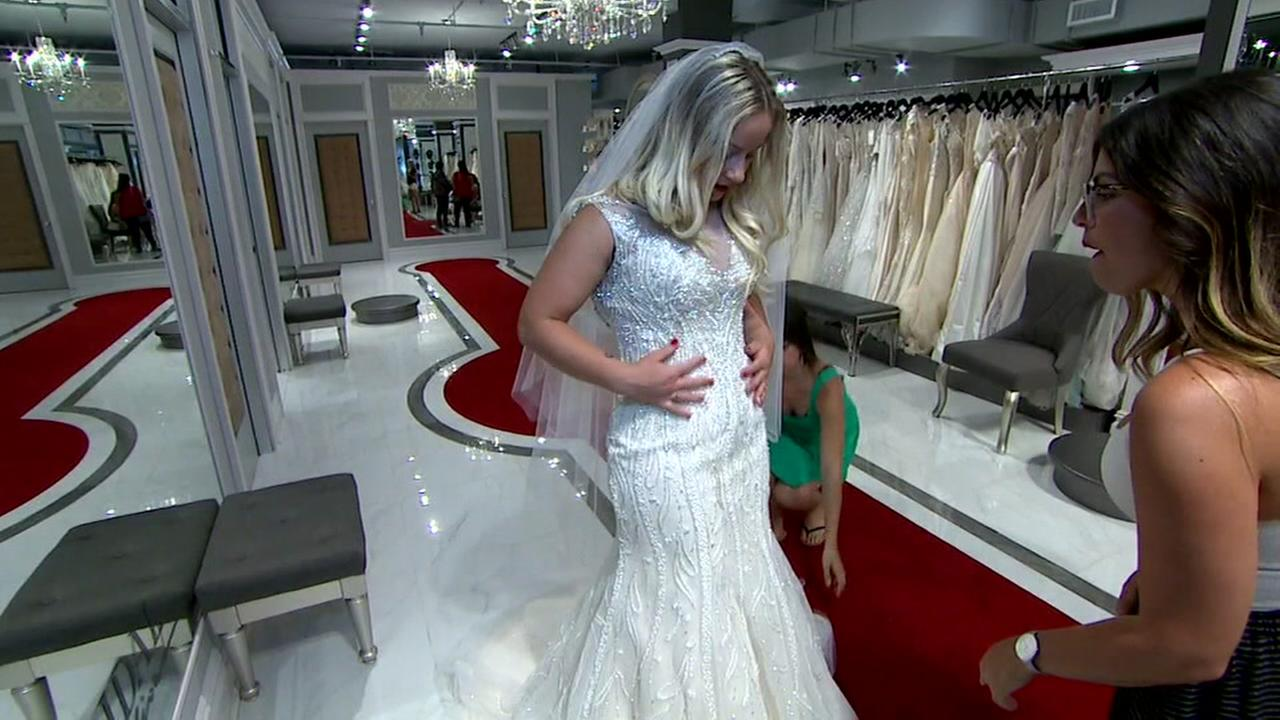 Military and first responder brides get free dresses via Operation Wedding Gown