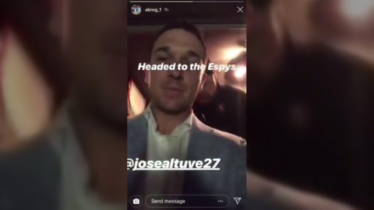 Astros headed to the Espys