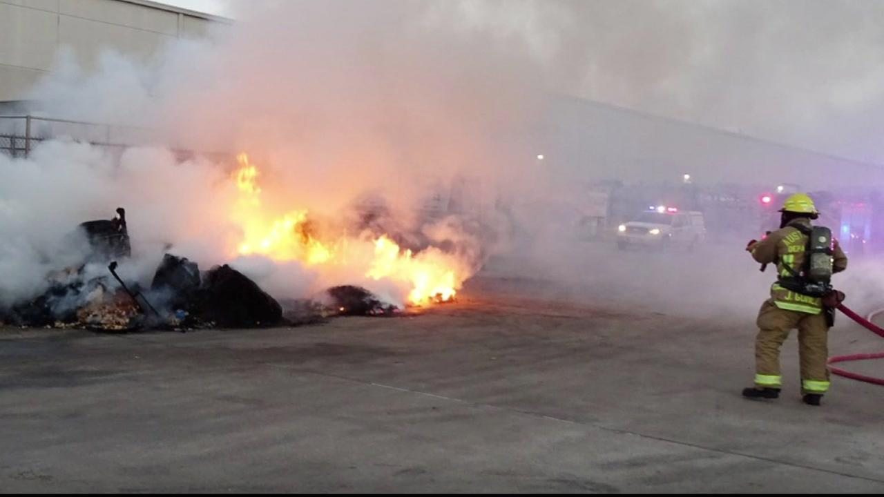 Tortilla chips at Austin factory erupt in flames twice in 3 days