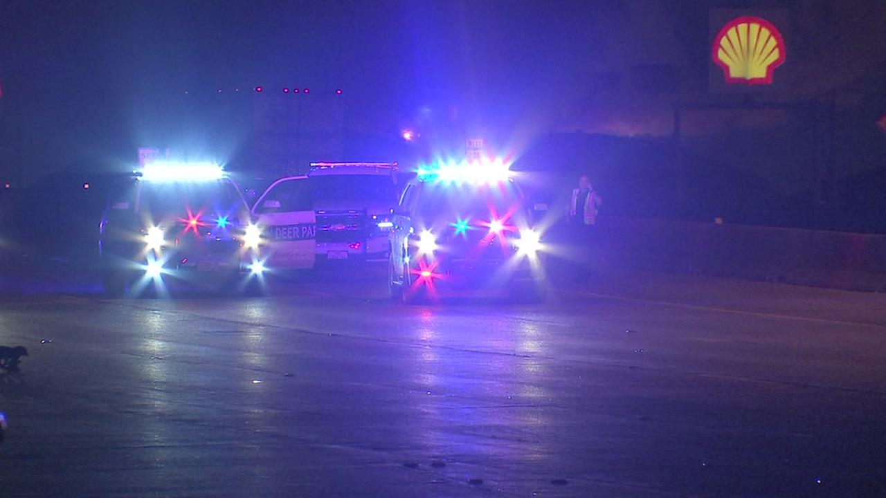 At least 1 person killed in 3-vehicle crash on SH-225 at Center St.