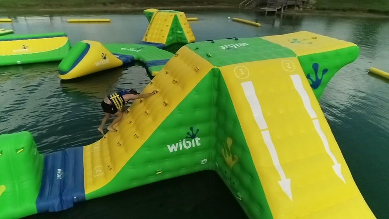 Foti Kallergis takes us to floating waterpark Altitude H20