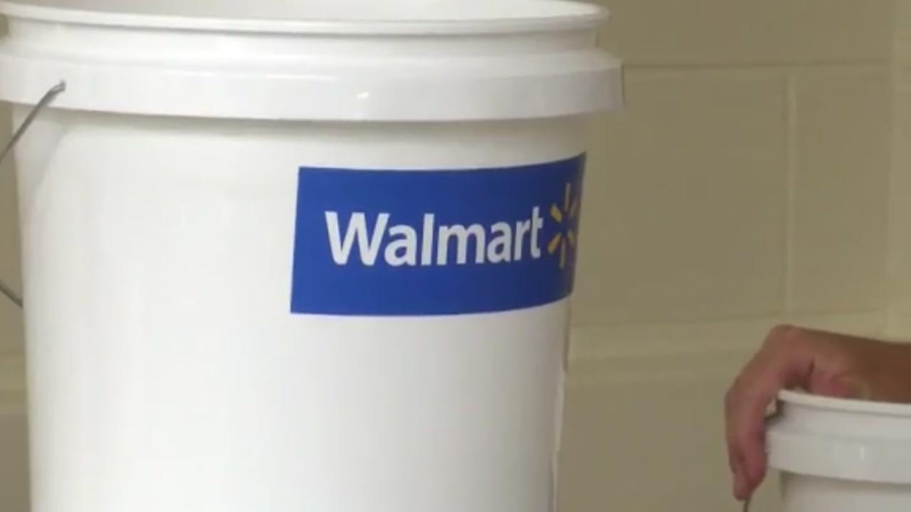 Schools get safety buckets in case of emergency