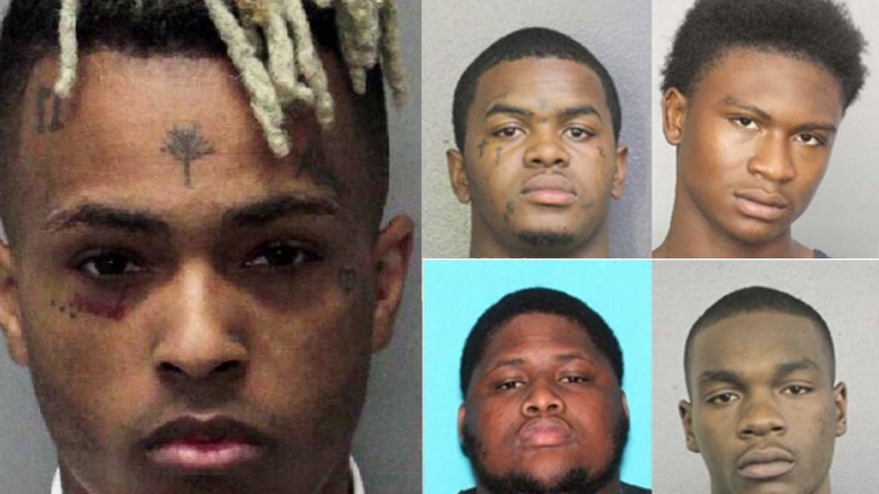 Four indicted in murder of XXXTentacion