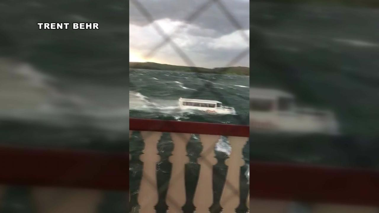 At least 11 dead after duck boat capsizes near Branson, Missouri