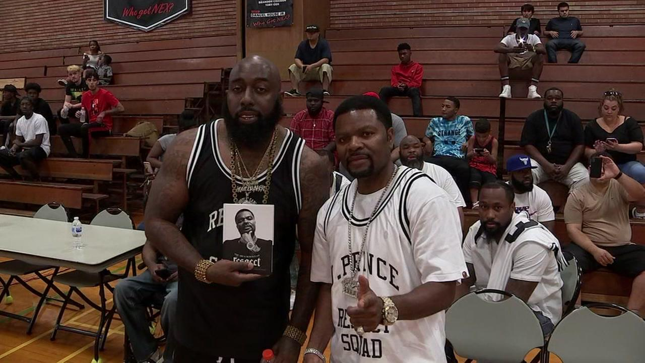 Trae tha Truth hosts celebrity basketball game