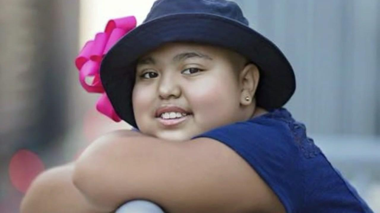 12-year-old with cancer in need of bone marrow transplant