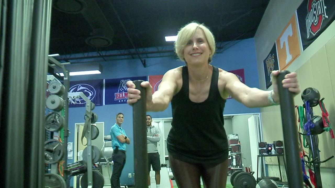 Osteoporosis cant slow down this 55-year-old weightlifter