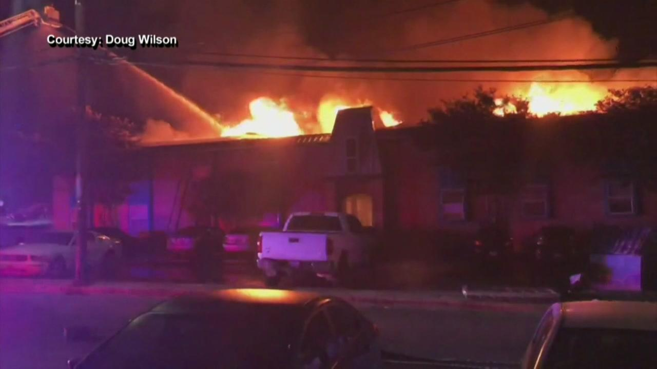 Five people still missing after San Marcos apartment fire