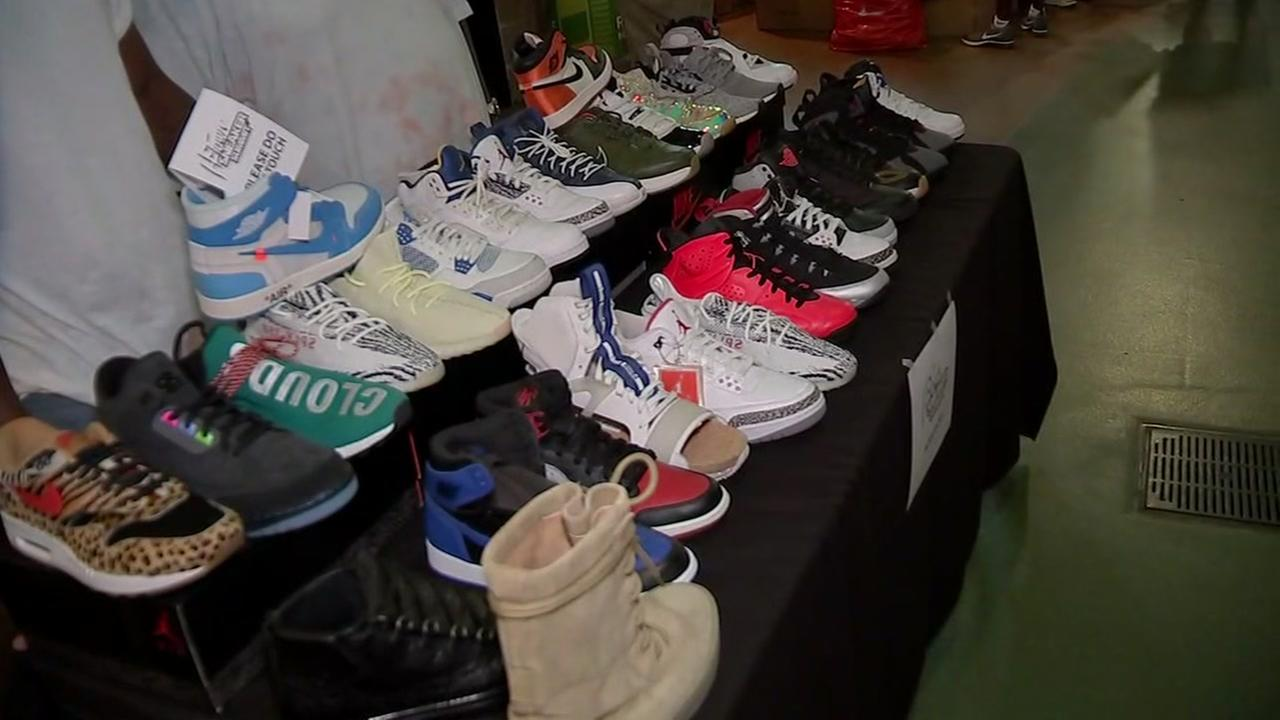 H-Town Sneaker Summit held at MMP on Sunday