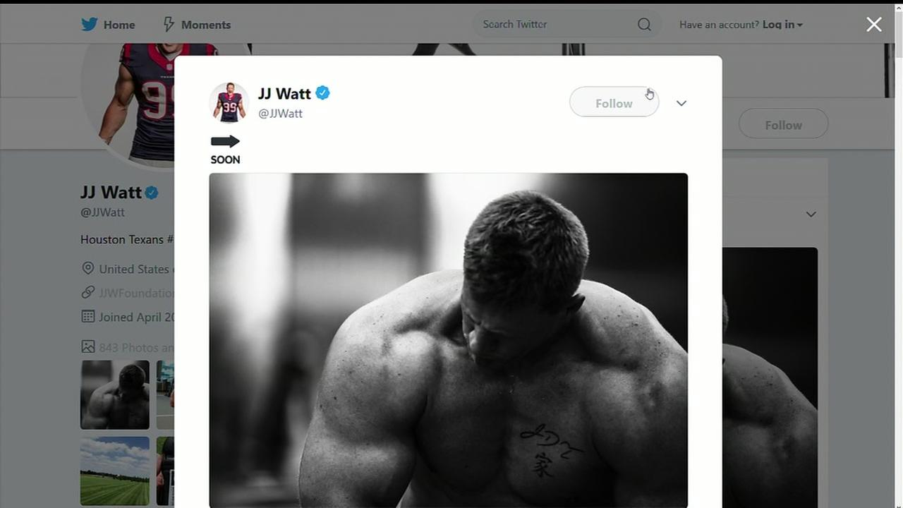 JJ Watt teases return with picture of himself on Twitter