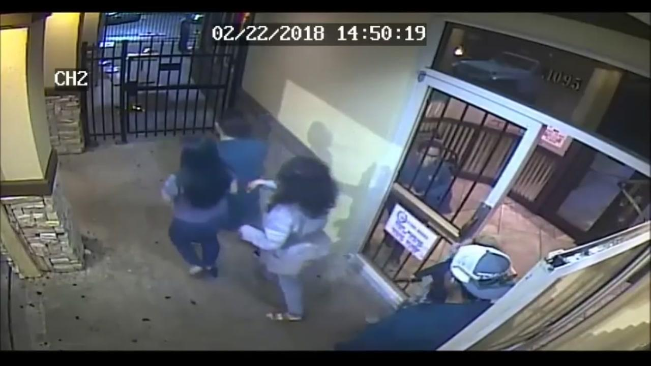 Surveillance video in fatal shooting