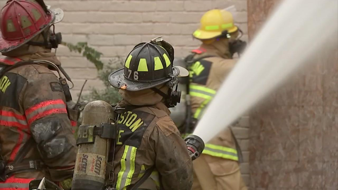 Firefighters complain about campaign against pay parity ballot petition.