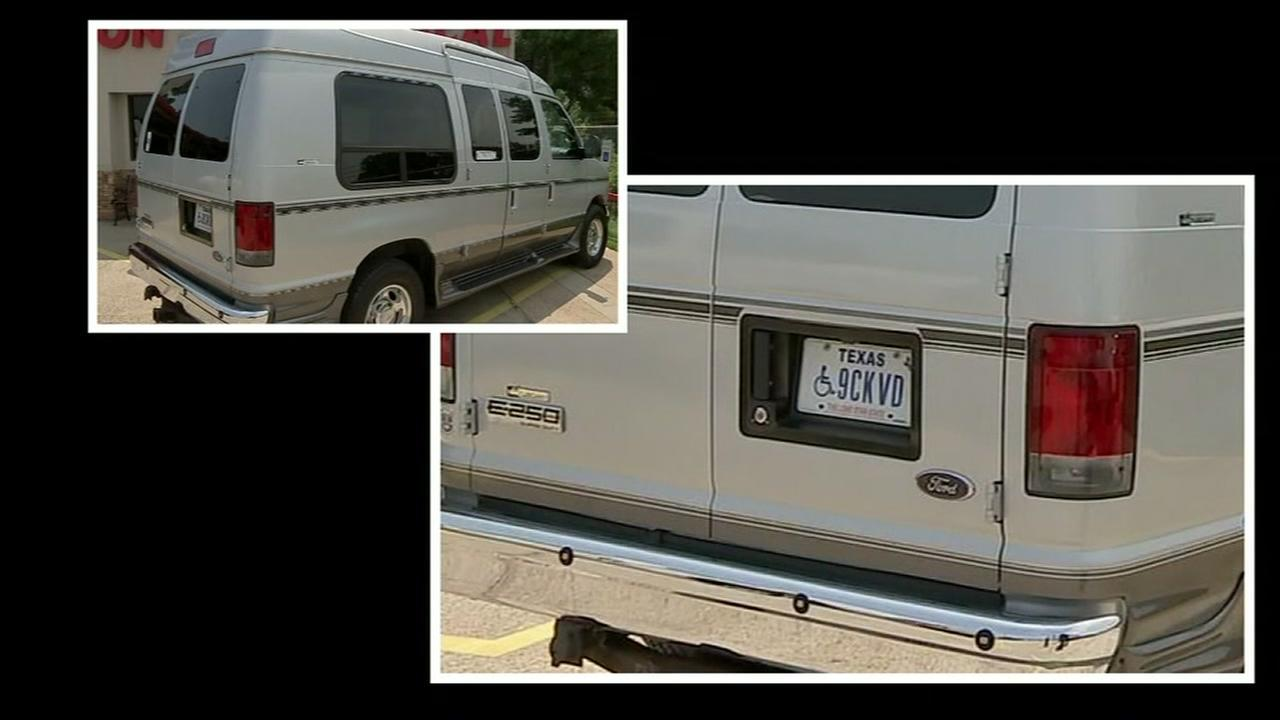 Quadriplegic mans van taken for 2nd time in three years