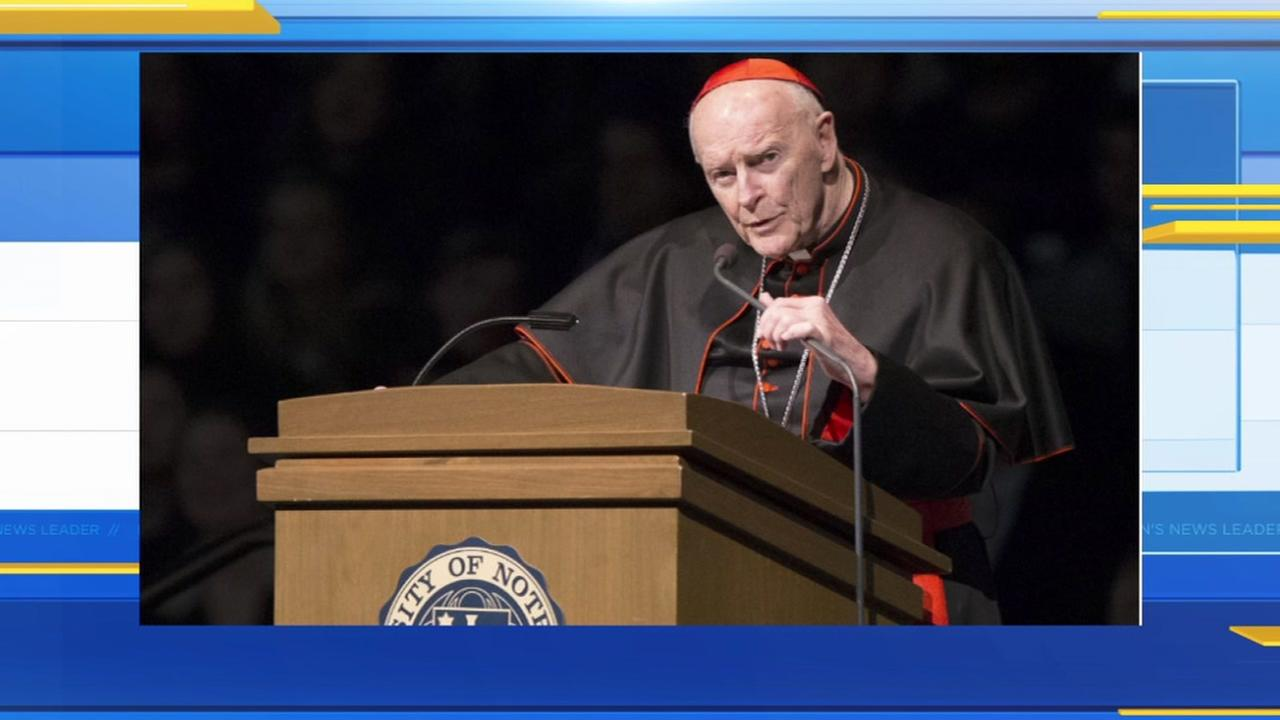 US prelate McCarrick resigns from College of Cardinals