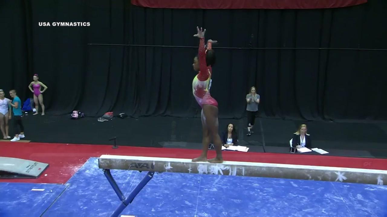 Simone Biles competition win