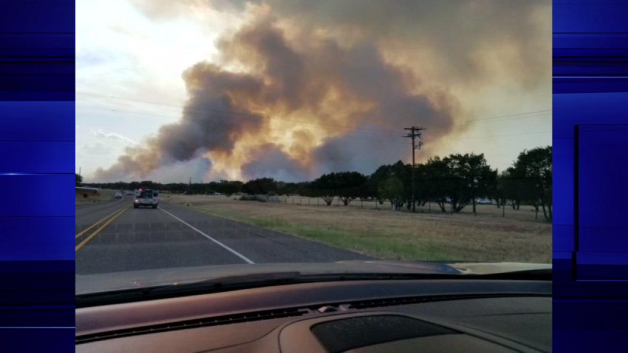 Brush fire spreading near State Park in Austin evacuates about 250 visitors